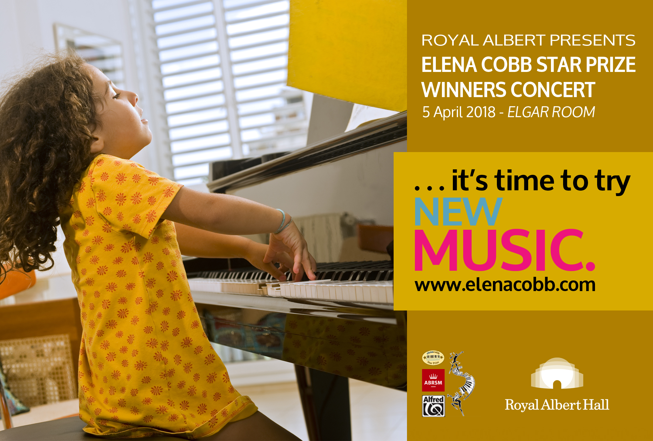 Elena Cobb Winners Concert Albert Hall 2018