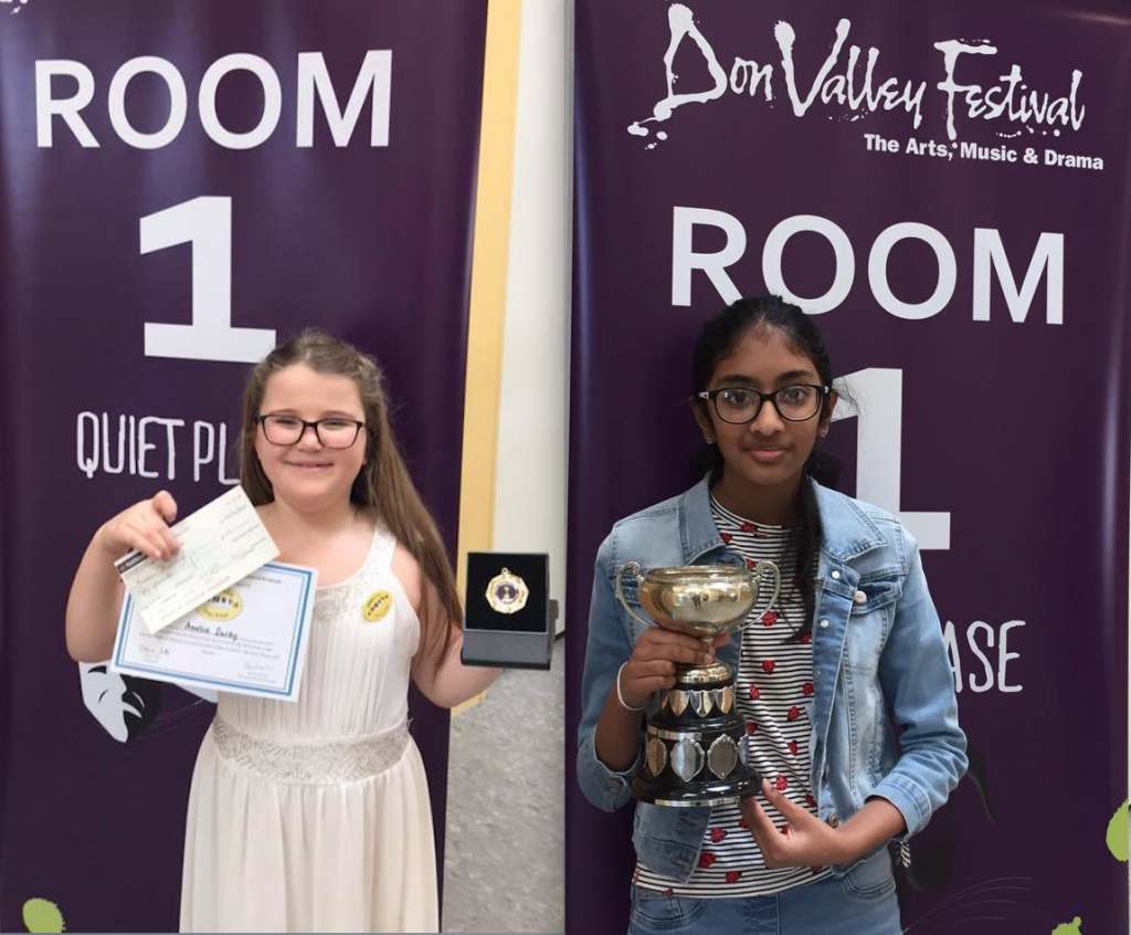 Elena Cobb Star Prize Winners at the Don Valley Festival